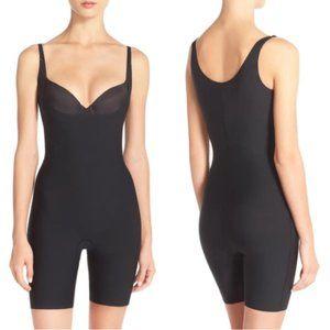 Spanx Thinstincts Open Bust Mid Thigh Bodysuit